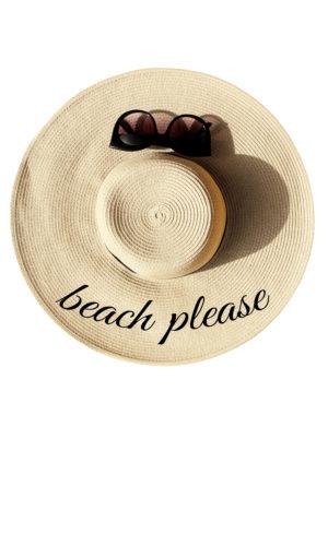 דגם beach please